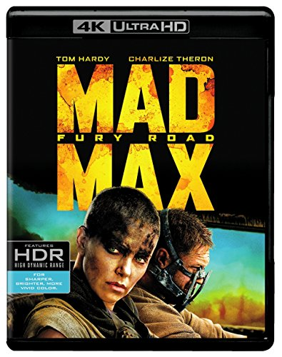 4K Blu-ray : Mad Max Fury Road (Ultraviolet Digital Copy, 2 Pack, Digitally Mastered in HD, 2 Disc)