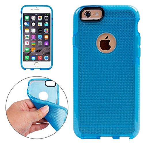 Phone Taschen & Schalen Für iPhone 6 Plus & 6s Plus Knit Texture TPU Schutzhülle ( Color : Dark Blue )
