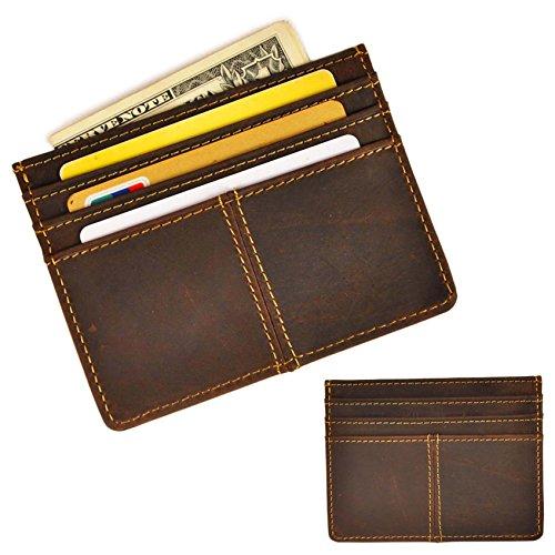 leaokuu-genuine-leather-thin-card-case-holder-slim-handy-wallet-front-pocket-dark-brown