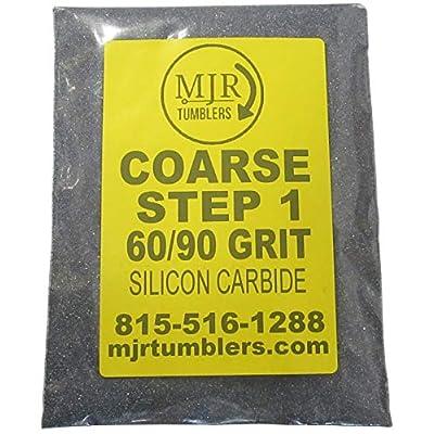 MJR Tumblers 5 LB per Polish 60 90 Silicon Carbide Rock Refill Grit Abrasive Media Step 1 USA: Toys & Games