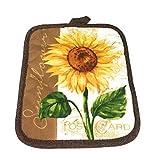 Mainstay Sunflower Kitchen Set Includes 2 Kitchen