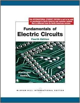 Fundamental Of Electric Circuit Pdf