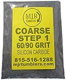 MJR Tumblers 1 LB Polish 60 90 Silicon Carbide Rock Refill Grit Abrasive Media Step 1 USA