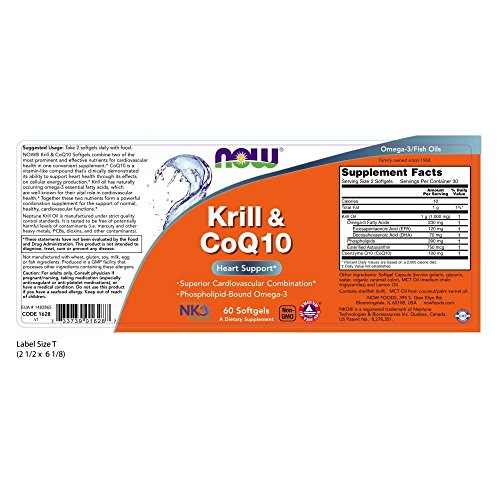 Now Supplements, CoQ10,