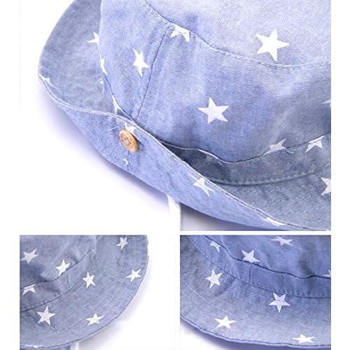 Sombrero de pesca para bebés Protección UV Sombrero para el sol Sombrero de  verano al aire aa01b3c3592