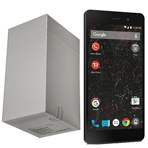 Silent Circle Blackphone 2 32GB Factory Unlocked Encrypted & Secure Smartphone with No Subscription License