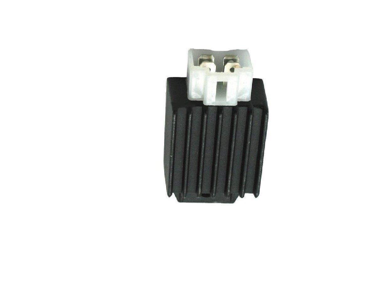 amazon com baja dune 150 (dn150) go kart parts 4 pin rectifieramazon com baja dune 150 (dn150) go kart parts 4 pin rectifier (voltage regulator) for 50cc 150cc gy6 scooter engines automotive