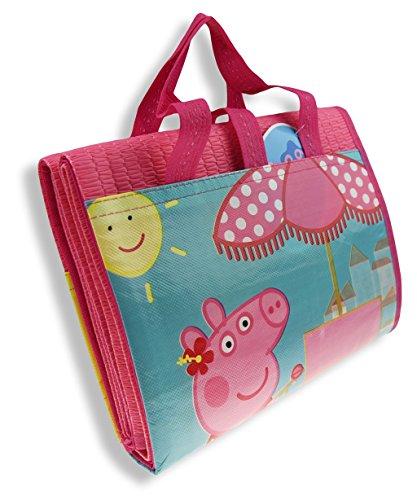 Arditex, tinta unita borsa da spiaggia rosa 150cm