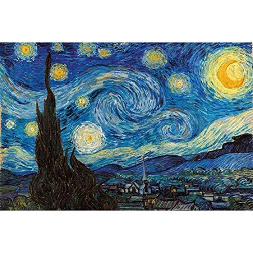 Puzzle Van Gogh Pesca Estrellada