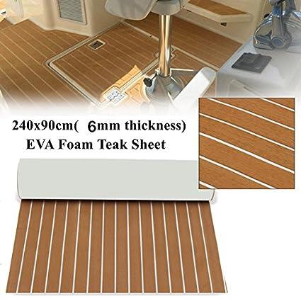 Installing eva foam boat decking