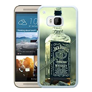 For HTC ONE M9,Jack Daniels Whiskey White Protective Case For HTC ONE M9