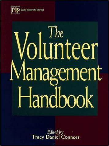 The Volunteer Management Handbook (Wiley Nonprofit Law