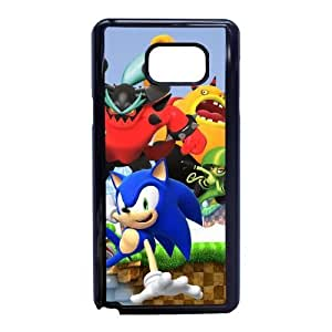 Special Design Cases Samsung Galaxy Note 5 Cell Phone Case Black Sonic Lost World Elrmy Durable Rubber Cover