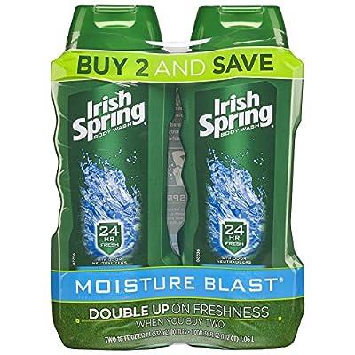 Irish Spring Moisture Blast Moisturizing Bar Soap - 6 count (12 Pack)
