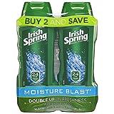 Beauty : Irish Spring Moisture Blast Moisturizing Body Wash - 18 fluid ounce (2 Pack)