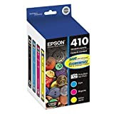 Best Epson Ink Cartridges - Epson T410520 (410) Ink Cartridge, Photo Black/Cyan/Magenta/Yellow, 4/PK Review