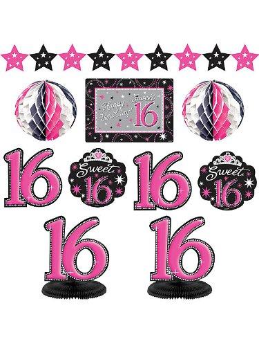 Sweet 16 Decorating Kit (Each) AMSCAN