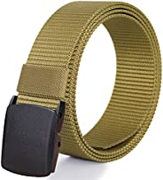 Fairwin Men's Nylon Tactical Web Belt - Military Style Casual Army Outdoors
