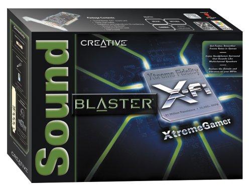 Creative Sound Blaster X-Fi XtremeGamer Sound Card (70SB073A00000)