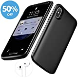 iPhone X Battery Case,[6000mAh] iphonex Portable Charger,Portable Rechargeable Protective Charging Case Slim for Apple iPhone 10,Support Lightning Earphone and Sync-though(Black)