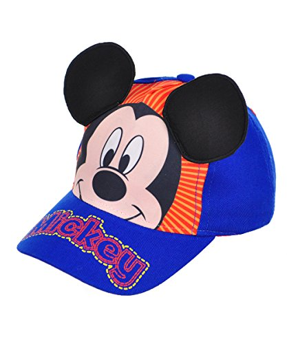 Disney Mickey Mouse Baseball Cap, 3-6 Years (Blue (Mickey Mouse Baseball)