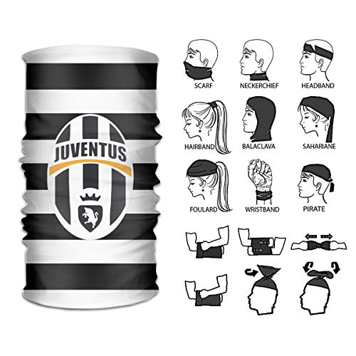 Juventus Headbands,Neck Gaiter,Headwear,Magic Scarf Seamless Bandana For Fishing, Hiking