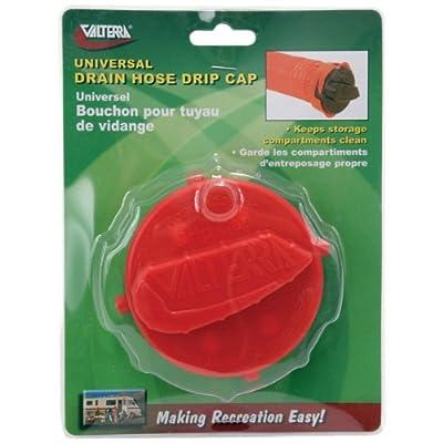 "Valterra T1020-2VP Universal 3"" Drain Hose Bayonet Drip Cap - Red (Carded): Automotive"