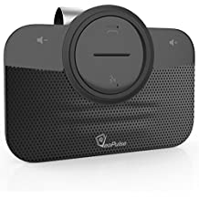 VeoPulse Car Speakerphone B-PRO 2 with Bluetooth Automatic Cellphone Connection - Safe Hands-free kit Talking and Driving Wireless Technology - Compatible with All Cars and Bluetooth Phones