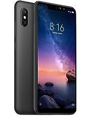"Xiaomi Redmi Note 6 Pro Smartphone de 6.26"" (Dual SIM, 12 MP, 4 GB RAM, 64 GB Memoria), Negro"
