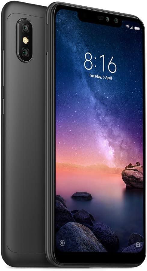 Xiaomi Redmi Note 6 Pro 32GB 3GB RAM Dual SIM Global Black: Amazon ...