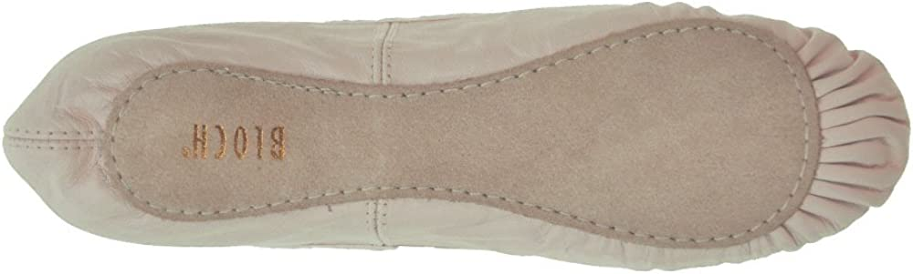 Bloch Arise Leather Ballet Shoe Theatrical Pink