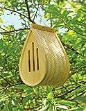 Gardener's Supply Company Woven Bamboo Butterfly