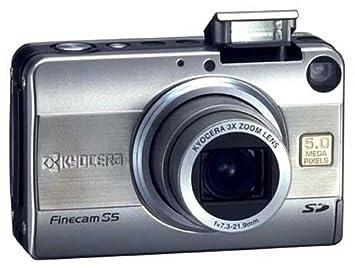 kyocera finecam s5 digital camera amazon co uk camera photo rh amazon co uk Canon Digital Camera Manual Omni 2 Digital Camera Manual