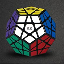 CuberSpeed Qiyi Megaminx Black Magic cube Mofangge QiYi QiHeng Black Megaminx Magic Cube