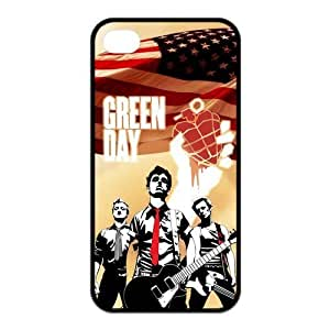 Music Band Green Day iPhone 4/4s Case Covers Rock Band Billie Joe Armstrong Mike Dirnt Tre Cool Jason White Red/Green iPhone 4/4s Case at NewOne