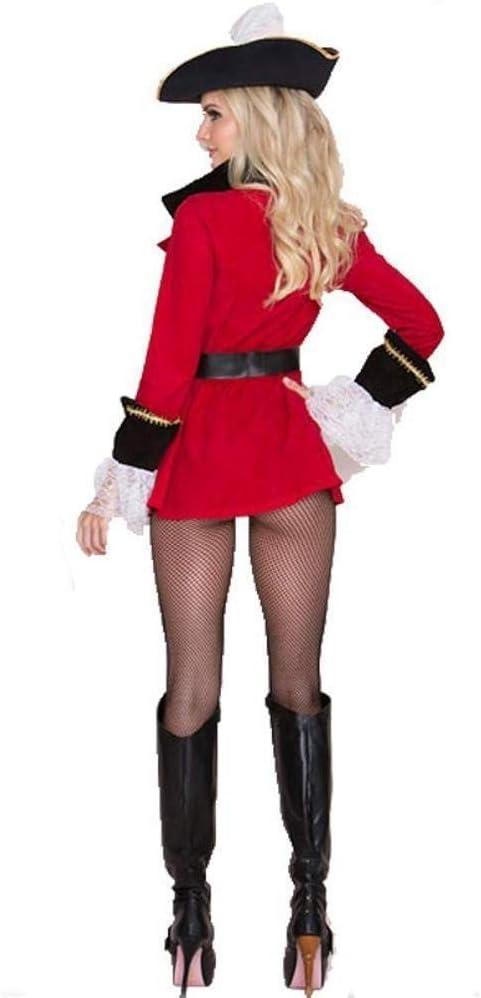 Fashion-Cos1 Disfraz de Halloween para Las Mujeres Crueles Mares ...