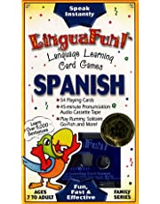 Lingua Fun! Family Spanish: 1 Cassette, 45 Minutes. 54 Game Cards
