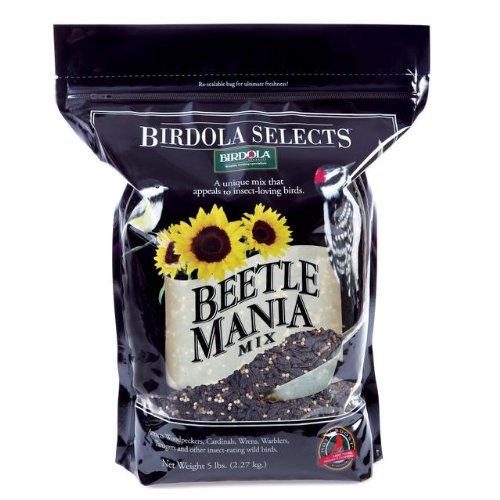 Birdola Sunflower (Birdola 54581 Beetle Mania Bird Food, 5-Pound)