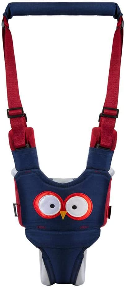 Ecisi Baby Walking Assistant Toddler Walking Harness Handle Baby Walker,Toddler Safety Harness to Prevent Baby Falling,Walking Walker Harness for Baby 6-24 Month Blue