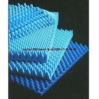 >Hosp bed pad 2in 33x72. Convoluted Foam Hospital Bed Pad