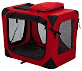 Pet Gear Home 'N Go Deluxe Soft-Sided Pet Crate, Small, Red Poppy For Sale