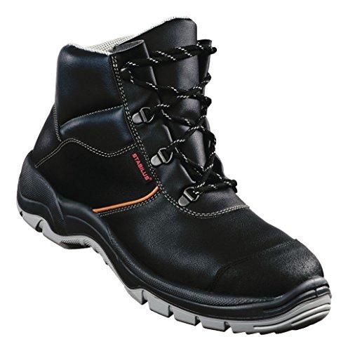 Stabilus Sicherheitsstiefel EN 20345 S3 8330 Gr. 44 Leder, schwarz