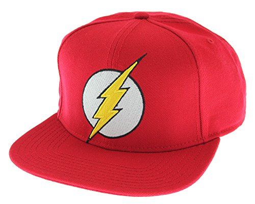 Bioworld Flash Bright Red Logo Snap Back Hat Standard -