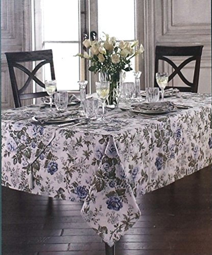 Waterford Table Linens Jade - Blue Tablecloths- Assorted ...