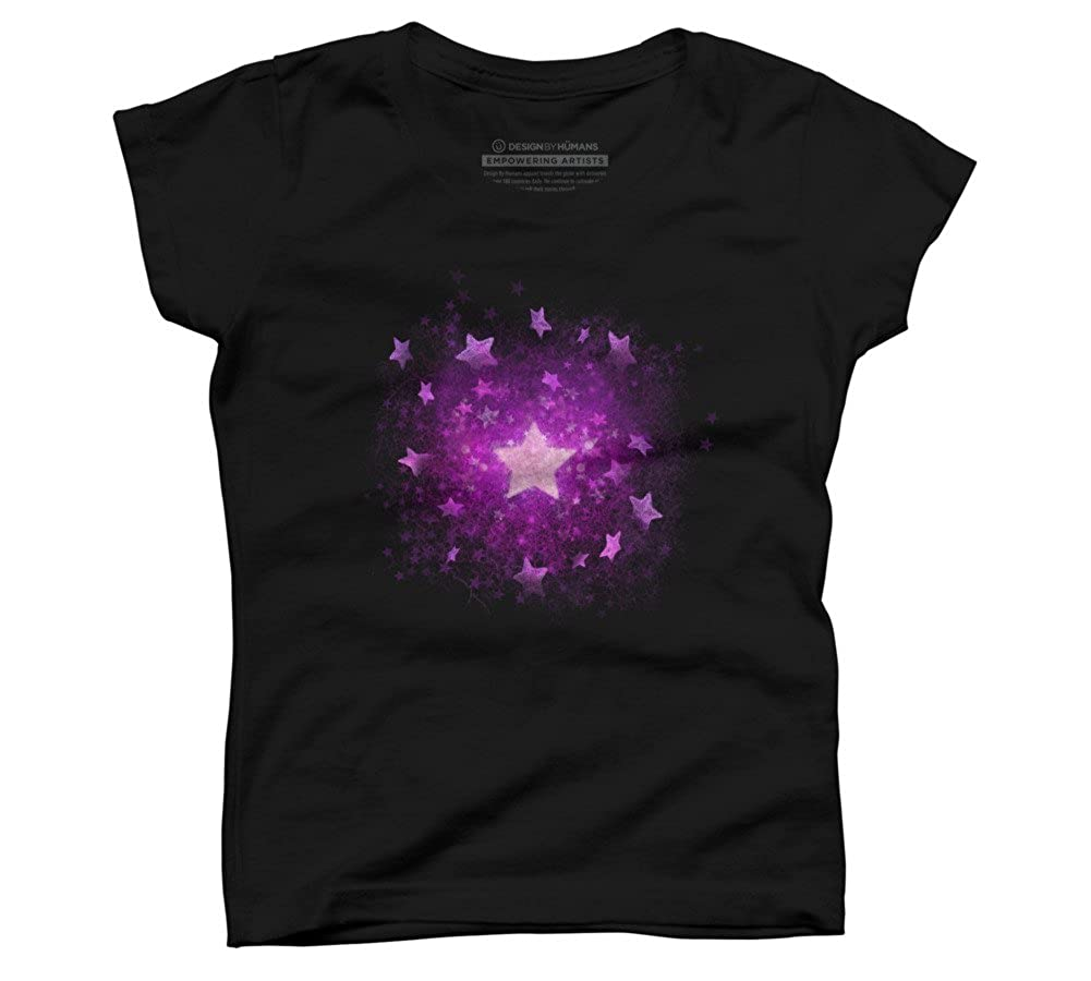 Design By Humans Star is Born Girls Youth Graphic T Shirt