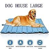 Outdoor Dog Bed - Elite Oversize Waterproof Pet Blanket Bed Mat Cover for Cat&Dog-Outdoor Cooling Pet Bed for Large Dog or Puppy (blue)