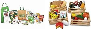 Melissa & Doug Grocery Store Companion Set & Food Groups