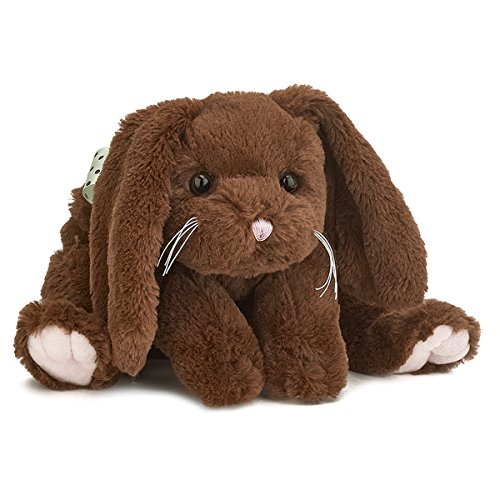 Bunny Easter Brown (Bearington Brownie Chocolate Brown Plush Stuffed Animal Bunny Rabbit, 14