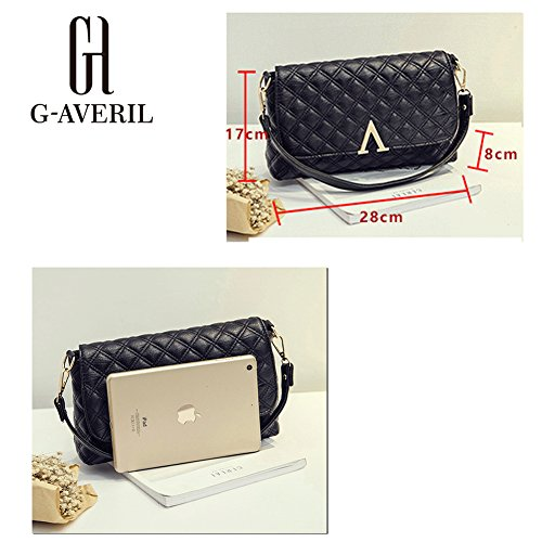 G-AVERIL - Bolso mochila  para mujer Negro negro rosa