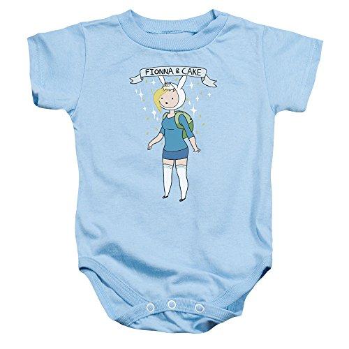 Adventure Time - Fionna & Cake Baby Onesie 18M (Fionna And Cake Shirt)
